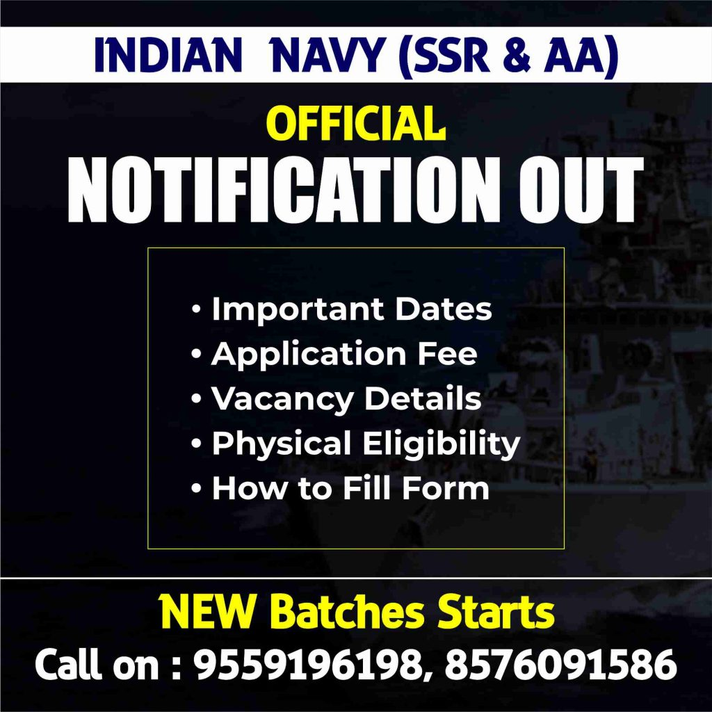 Navy Notification 2021