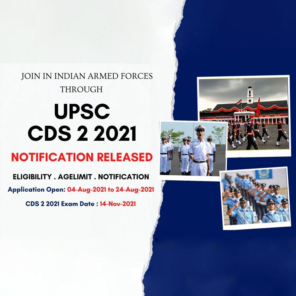 CDS II 2021 Notification